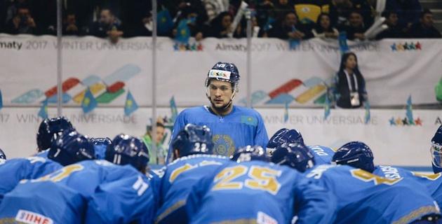 Сборная Казахстана по хоккею проиграла России в финале Универсиады-2017