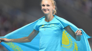 Ольга Рыпакова выиграла чемпионат Казахстана по легкой атлетике