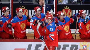 Сборная России по хоккею впервые за 4 года выиграла Евротур