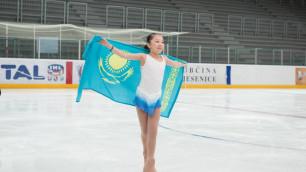 Элизабет Турсынбаева идет третьей после короткой программы на Турнире четырех континентов