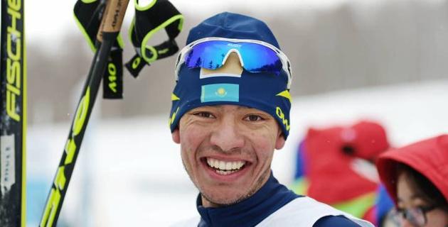 Казахстанский лыжник раскрыл залог своей золотой медали на Азиаде-2017