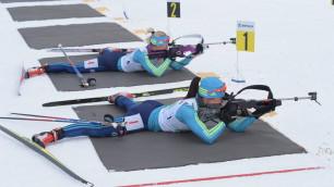 Казахстанские биатлонисты сделали победный дубль в смешанной эстафете на Азиаде-2017