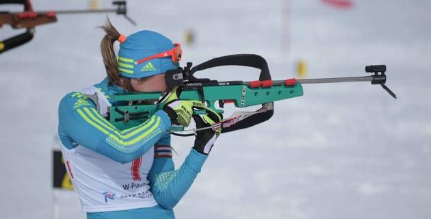Казахстанская биатлонистка Галина Вишневская выиграла все гонки на Азиаде-2017