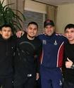 Казахстанские боксеры тренируются вместе с Сергеем Ковалевым