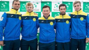 Казахстан сыграет с Китаем в Кубке Дэвиса