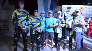 Команда Astana Motorsports успешно дебютировала в классе квадроциклов