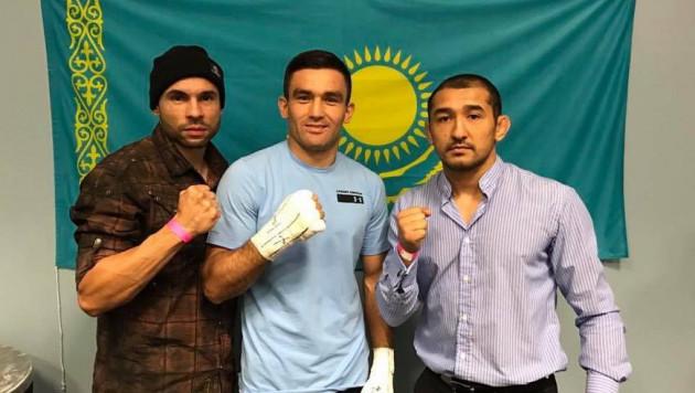 В Сети появилось видео жесткого нокаута казахстанского боксера в бою с американцем