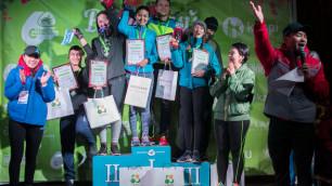 """Более 650 человек вышло на старт """"Весеннего забега"""" в Алматы"""