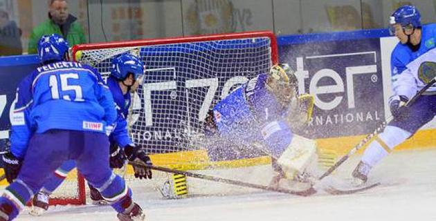 Сборная Казахстана по хоккею проведет товарищеский матч с Италией