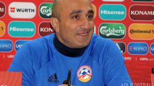 Мне кажется, было сделано все, чтобы никто не смотрел матч Казахстана с Кипром - тренер сборной Армении