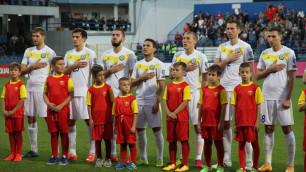 В матче отборочного цикла ЧМ-2018 Армения - Казахстан завершился первый тайм