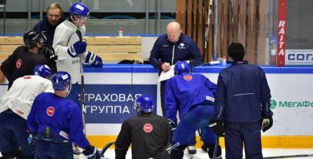Сборная Казахстана по хоккею начала подготовку к чемпионату мира
