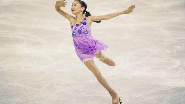 Казахстанская фигуристка Турсынбаева обеспечила себе место в произвольной программе чемпионата мира