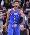 """Лидер """"Оклахомы"""" установил рекорд НБА по количеству очков при трипл-дабле"""
