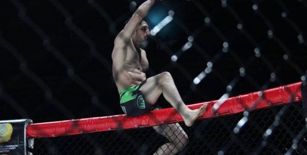 Казахстанский ММА-боец нокаутировал во втором раунде соперника из Кыргызстана на турнире в Астане