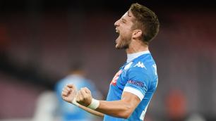 """Футболист """"Наполи"""" забил гол первым касанием через 10 секунд после выхода на замену"""