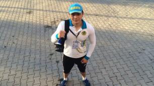 Казахстанский тяжеловес нокаутировал соперника на турнире в Болгарии