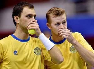 Голубев и Недовесов досрочно обеспечили Казахстану выход в плей-офф Мировой группы Кубка Дэвиса