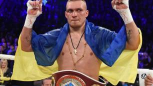 Александр Усик одержал победу над непобежденным американским боксером