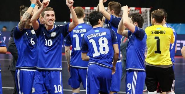 Сборная Казахстана по футзалу разгромила Данию в отборе на Евро-2018