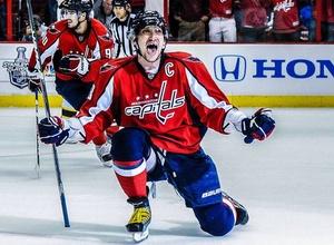 Овечкин первым в истории НХЛ стал лучшим снайпером команды 12 сезонов подряд
