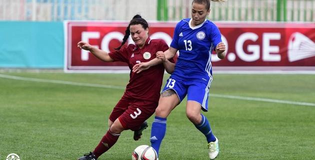 Женская сборная Казахстана победила Эстонию и вышла в следующий отборочный раунд ЧМ-2019