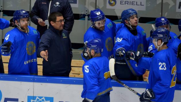 Сборная Казахстана по хоккею победила Словению в товарищеском матче