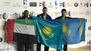 Казахстанец Максим Гуров выиграл чемпионат мира по джиу-джитсу
