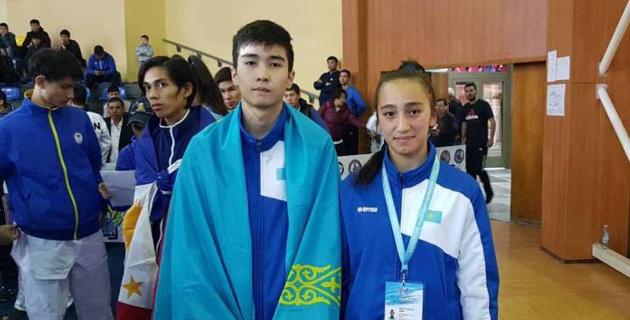 Казахстанские таеквондисты за два дня чемпионата Азии среди юниоров завоевали пять медалей