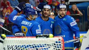 Букмекеры сделали прогноз на первый матч сборной Казахстана на чемпионате мира по хоккею