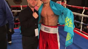Бобиржан Моминов одержал третью победу на профи-ринге