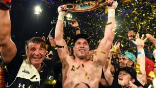 Чемпион WBO хочет встретиться с победителем боя Кличко - Джошуа