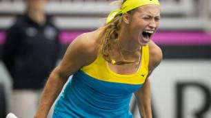 Казахстанские теннисистки проиграли канадкам в Кубке Федерации
