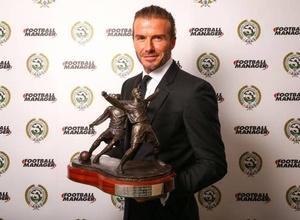 Бекхэм получил награду PFA за заслуги перед футболом