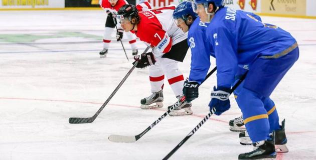 Сборная Австрии обошла Казахстан в группе на чемпионате мира по хоккею