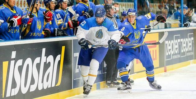 Видеообзор матча Казахстан - Украина на чемпионате мира по хоккею