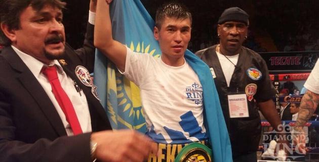 Бекман Сойлыбаев выиграл у венесуэльца Самуэля Гонсалеса и завоевал пояс WBC International