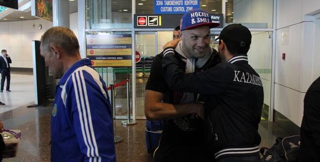 Cборная Казахстана по боксу вернулась с чемпионата Азии