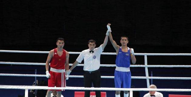 Казахстанский боксер Заурбек в 1/4 финала турнира в Баку встретится с соперником из Узбекистана