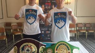 Прямая трансляция титульных боев казахстанских боксеров Ешенова и Журавского в Англии