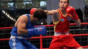 Боксер Махметов стал вторым финалистом из Казахстана на Исламиаде-2017