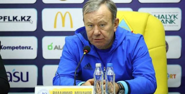 "Владимир Муханов покинул ""Окжетпес"""