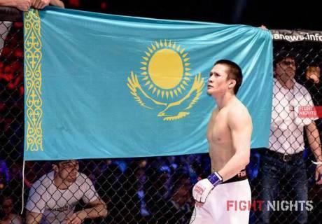 Жалгас Жумагулов. Фото Fight Nights Global