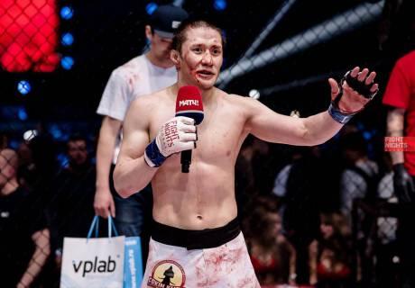Жалгас Жумагулов. Фото из архива Fight Nights Global