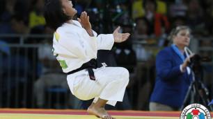 Казахстанка Галбадрах Отгонцэцэг проиграла сопернице из Монголии в финале чемпионата Азии по дзюдо