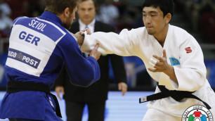 Дзюдоист Жансай Смагулов досрочной победой принес Казахстану третью медаль ЧА-2017
