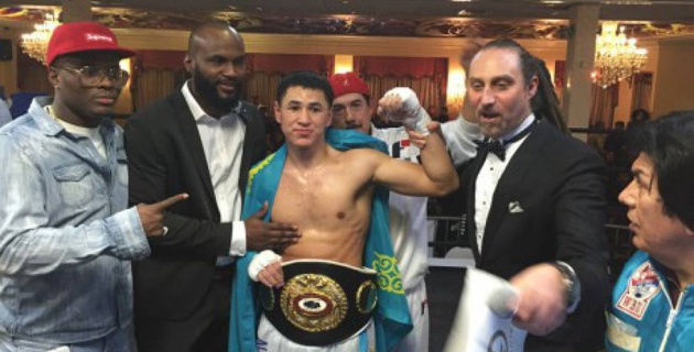 Видео досрочной победы небитого казахстанского боксера Турарова над мексиканцем в США