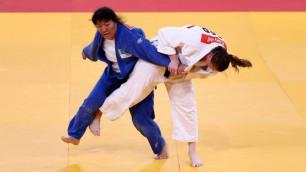 Дзюдоистка Гульжан Исанова принесла Казахстану бронзовую медаль ЧА-2017