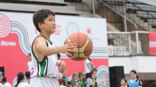 В Алматы завершился детский спортивный проект Olympic Moves