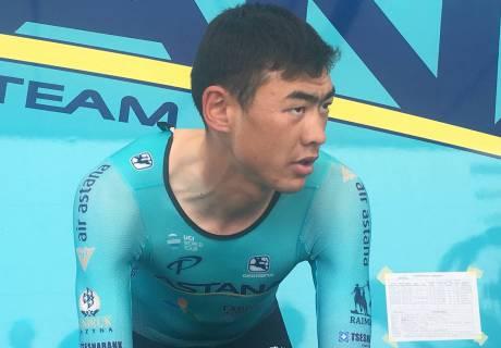 """На следующий год я хотел бы вернуться на """"Джиро"""" с уже более высокими амбициями - Жандос Бижигитов"""